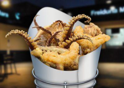Cartucho de pescaito frito